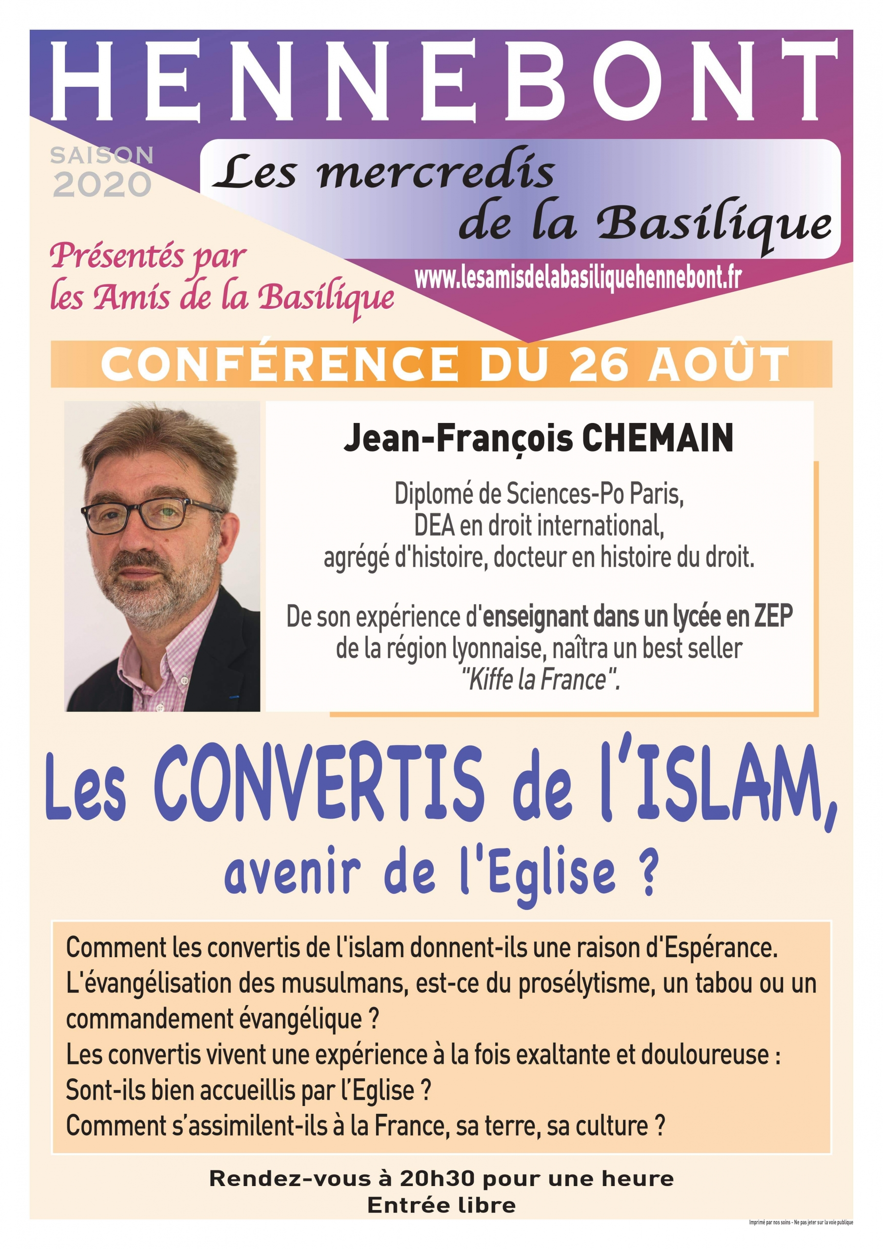 mercredis_de_la_basilique_conference_Jean_Fraancois_chemain